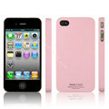 IMAK Ultrathin Matte Color Covers Hard Cases for iPhone 4G\4S - Pink