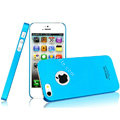 IMAK Ultrathin Matte Color Covers Hard Cases for iPhone 5 - Blue