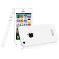 IMAK Ultrathin Matte Color Covers Hard Cases for iPhone 5 - White