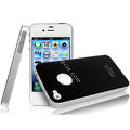 IMAK Ultrathin Double Color Covers Hard Cases for iPhone 4G\4S - Black