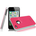 IMAK Ultrathin Double Color Covers Hard Cases for iPhone 4G\4S - Rose