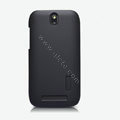 Nillkin Super Matte Hard Cases Skin Covers for HTC T528t One ST - Black