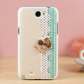 Retro keys Hard Cases Covers Skin for Samsung N7100 GALAXY Note2 - Beige
