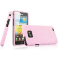 IMAK Armor Knight Color Covers Hard Cases for Samsung i9100 i9108 i9188 Galasy S2 - Pink