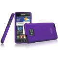 IMAK Armor Knight Color Covers Hard Cases for Samsung i9100 i9108 i9188 Galasy S2 - Purple