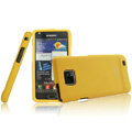 IMAK Armor Knight Color Covers Hard Cases for Samsung i9100 i9108 i9188 Galasy S2 - Yellow