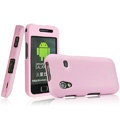 IMAK Armor Knight Full Cover Matte Color Shell Hard Cases for Samsung Galaxy Ace S5830 i579 - Pink