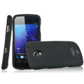 IMAK Armor Knight Full Cover Matte Color Shell Hard Cases for Samsung i9250 GALAXY Nexus Prime i515 - Black