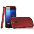 IMAK Armor Knight Full Cover Matte Color Shell Hard Cases for Samsung i9250 GALAXY Nexus Prime i515 - Red