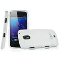 IMAK Armor Knight Full Cover Matte Color Shell Hard Cases for Samsung i9250 GALAXY Nexus Prime i515 - White