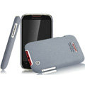 IMAK Cowboy Shell Quicksand Hard Cases Covers for Motorola XT550 - Gray
