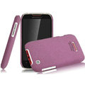 IMAK Cowboy Shell Quicksand Hard Cases Covers for Motorola XT550 - Purple