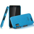IMAK Cowboy Shell Quicksand Hard Cases Covers for Motorola XT760 - Blue
