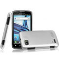 IMAK Titanium Color Covers Hard Cases for Motorola ME865 - Silver