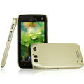 IMAK Titanium Color Covers Hard Cases for Motorola MT917 - Gold