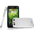 IMAK Titanium Color Covers Hard Cases for Motorola MT917 - Silver