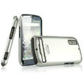 IMAK Titanium Color Covers Hard Cases for Motorola Photon 4G MB855 - Silver