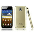 IMAK Titanium Color Covers Hard Cases for Samsung E110S Galaxy SII LTE - Gold