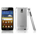 IMAK Titanium Color Covers Hard Cases for Samsung E110S Galaxy SII LTE - Silver