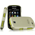 IMAK Titanium Color Covers Hard Cases for Samsung GALAXY Mini S3850 S5570 I559 - Gold