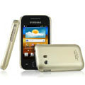 IMAK Titanium Color Covers Hard Cases for Samsung S5360 Galaxy Y I509 - Gold
