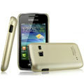 IMAK Titanium Color Covers Hard Cases for Samsung S5380 Wave Y - Gold