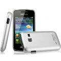 IMAK Titanium Color Covers Hard Cases for Samsung S5380 Wave Y - Silver