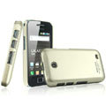 IMAK Titanium Color Covers Hard Cases for Samsung i589 - Gold