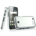 IMAK Titanium Color Covers Hard Cases for Samsung i589 - Silver