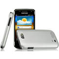 IMAK Titanium Color Covers Hard Cases for Samsung i8150 Galaxy W - Silver