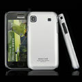 IMAK Titanium Color Covers Hard Cases for Samsung i9008 i9003 - Silver