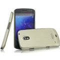 IMAK Titanium Color Covers Hard Cases for Samsung i9250 GALAXY Nexus Prime i515 - Gold