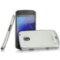 IMAK Titanium Color Covers Hard Cases for Samsung i9250 GALAXY Nexus Prime i515 - Silver