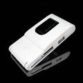 IMAK Ultrathin Color Covers Hard Cases for Sony Ericsson Satio U1 Idou - White