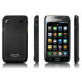 IMAK Ultrathin Matte Color Covers Hard Back Cases for Samsung i9000 Galaxy S i9001 - Black