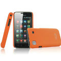 IMAK Ultrathin Matte Color Covers Hard Back Cases for Samsung i9000 Galaxy S i9001 - Orange
