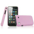 IMAK Ultrathin Matte Color Covers Hard Back Cases for Samsung i9000 Galaxy S i9001 - Pink