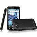 IMAK Ultrathin Matte Color Covers Hard Cases for Motorola ME865 - Black