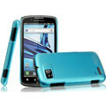 IMAK Ultrathin Matte Color Covers Hard Cases for Motorola ME865 - Blue