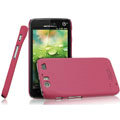 IMAK Ultrathin Matte Color Covers Hard Cases for Motorola MT917 - Rose