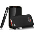 IMAK Ultrathin Matte Color Covers Hard Cases for Motorola XT550 - Black