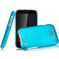 IMAK Ultrathin Matte Color Covers Hard Cases for Motorola XT550 - Blue