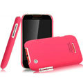 IMAK Ultrathin Matte Color Covers Hard Cases for Motorola XT550 - Rose