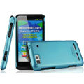 IMAK Ultrathin Matte Color Covers Hard Cases for Motorola XT615 - Blue