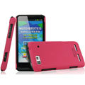 IMAK Ultrathin Matte Color Covers Hard Cases for Motorola XT615 - Rose