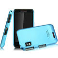 IMAK Ultrathin Matte Color Covers Hard Cases for Motorola XT760 - Blue