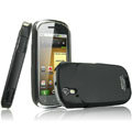 IMAK Ultrathin Matte Color Covers Hard Cases for Motorola XT800 - Black