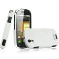 IMAK Ultrathin Matte Color Covers Hard Cases for Motorola XT800 - White