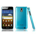 IMAK Ultrathin Matte Color Covers Hard Cases for Samsung E110S Galaxy SII LTE - Blue