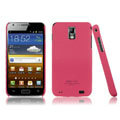 IMAK Ultrathin Matte Color Covers Hard Cases for Samsung E110S Galaxy SII LTE - Rose